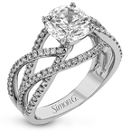 Simon G LR2125 ENGAGEMENT RING
