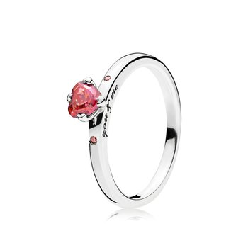 You Me Ring, Multi-Colored Cz
