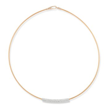 14K-P SUPER FLEX WIRE NECK., 0.45CT