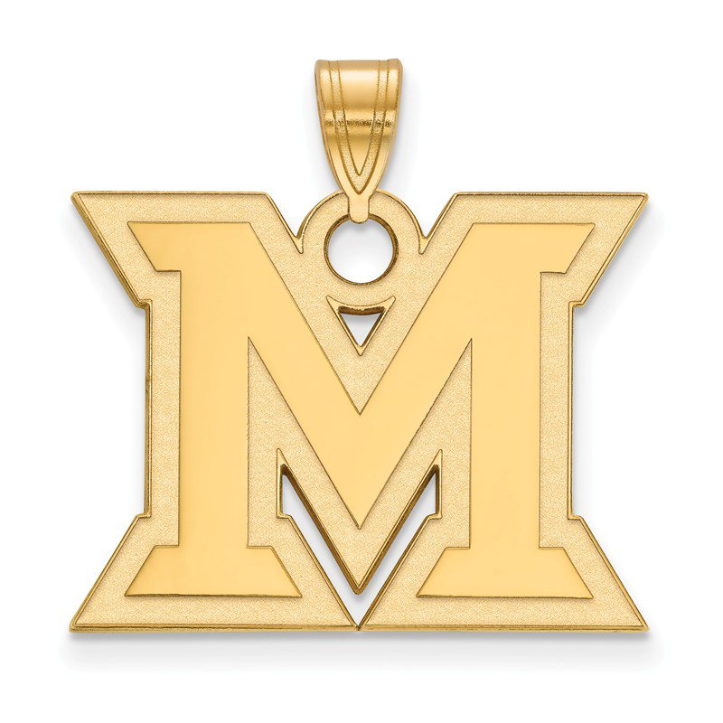 NCAA Gold Miami University NCAA Pendant