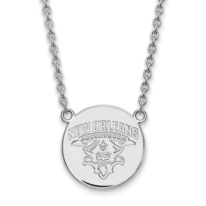 NCAA Sterling Silver University of New Orleans NCAA Pendant