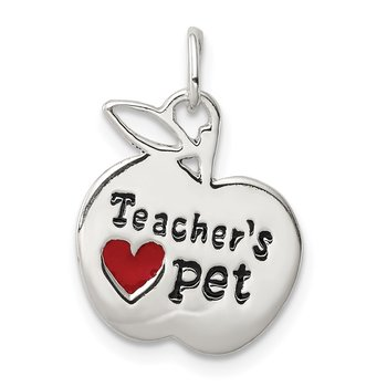 Sterling Silver Teacher's Pet