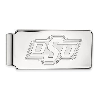 Gold Oklahoma State University NCAA Money Clip