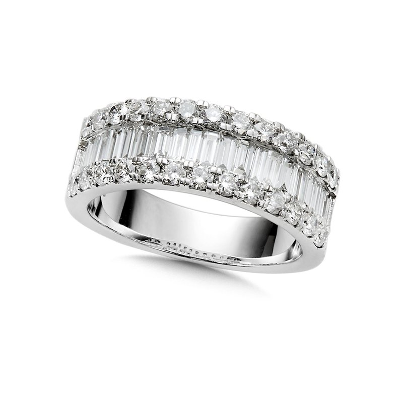 SDC Creations Baguette Diamond Ring