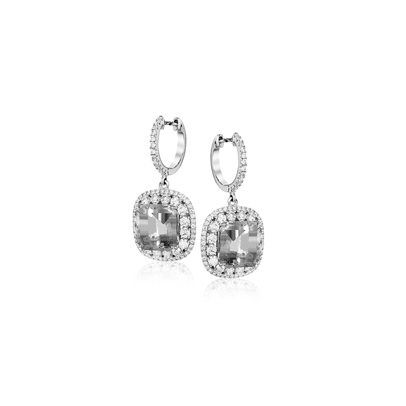Simon G ME2370-A COLOR EARRING