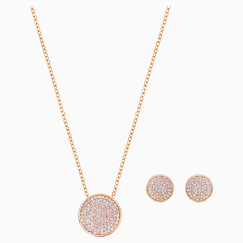 Fun Set, Rose-gold tone plated