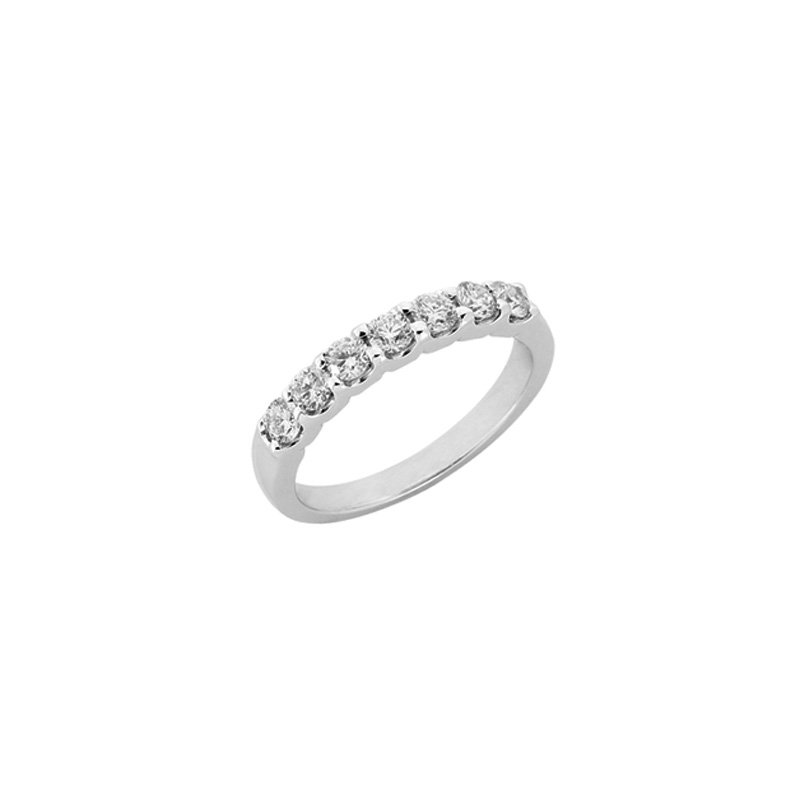 S. Kashi & Sons Bridal White Gold Shared Prong Band