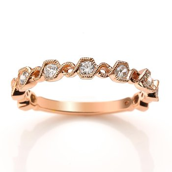 MARS 26212 Stackable Ring, 0.36 Ctw.