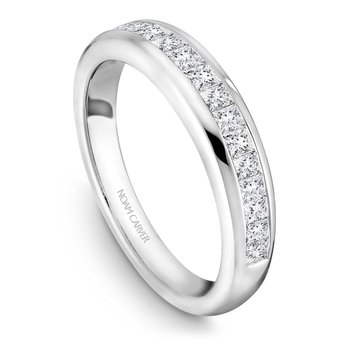 Noam Carver Wedding Band B033-01B