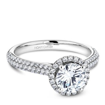 Noam Carver Vintage Engagement Ring B146-05A