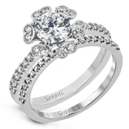 Simon G MR3056 WEDDING SET