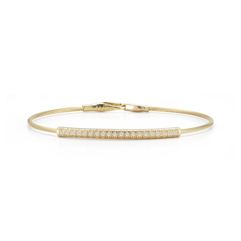 I. Reiss 14K-Y WIRE BR., 0.20CT