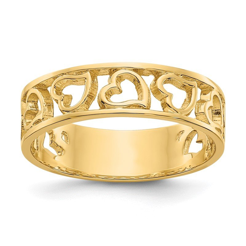 J.F. Kruse Signature Collection 14k Heart Ring