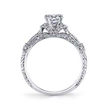 MARS 25878 Diamond Engagement Ring 0.25 Ctw.