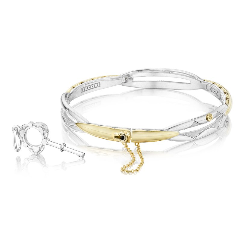 TACORI Promise Bracelet Round, Yellow Gold and Silver