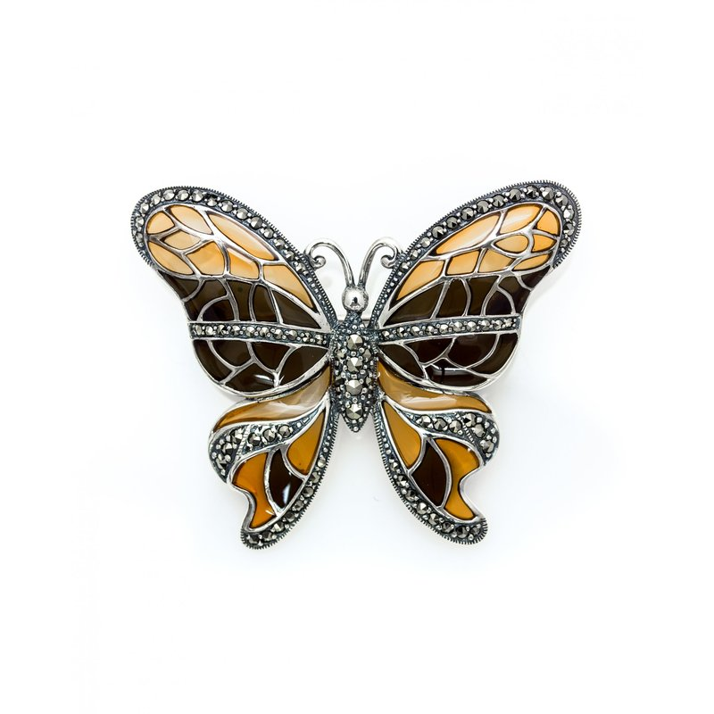 LARUS Jewelry Butterfly Brooch