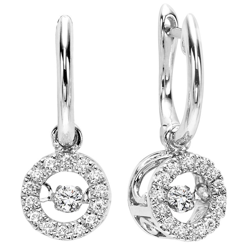 Rhythm Of Love 10k Diamond Rol Earrings 1 5 Ctw