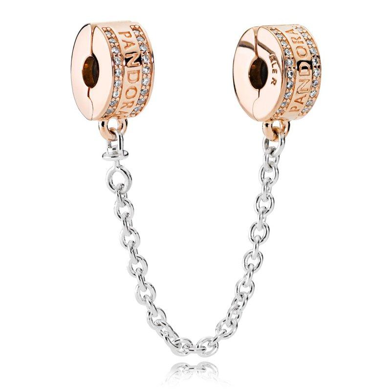 dd944d90981d5 Beré Jewelers: PANDORA Pandora Insignia Safety Chain, Pandora Rose ...