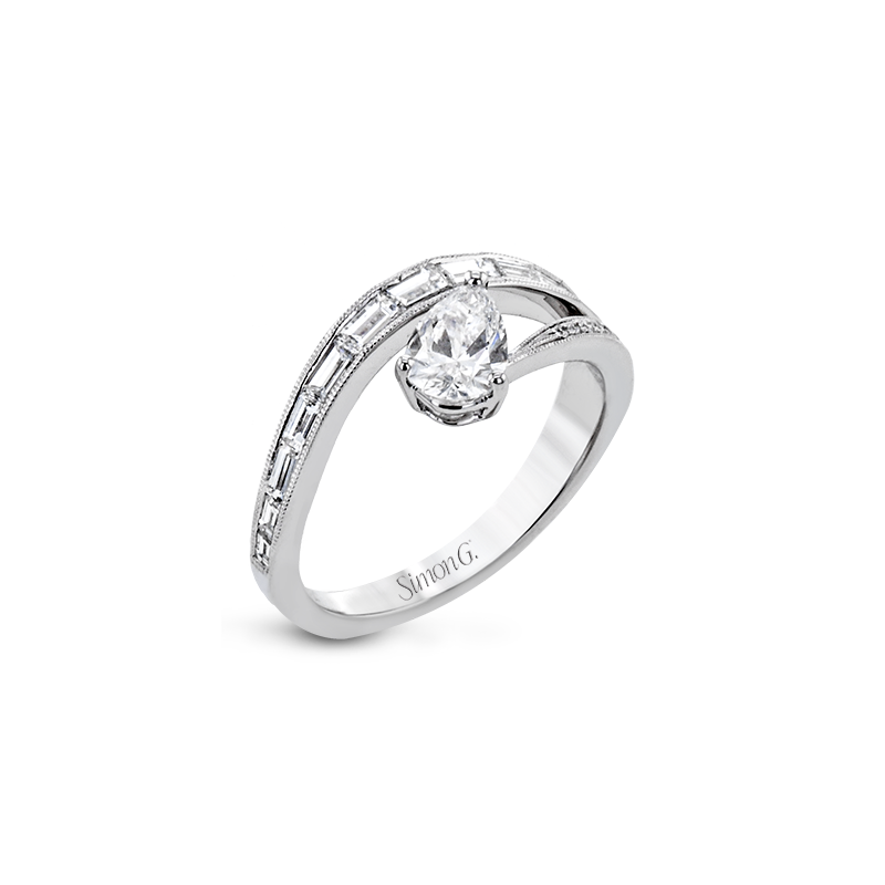 Simon G LR2713 ENGAGEMENT RING
