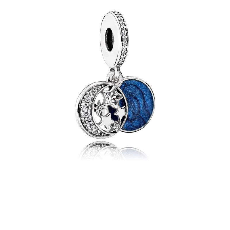 7eba740a2 Beré Jewelers: PANDORA Vintage Night Sky Dangle Charm, Shimmering ...