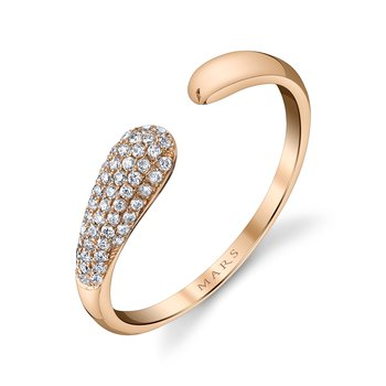 MARS 26806 Fashion Ring, 0.16 Ctw.