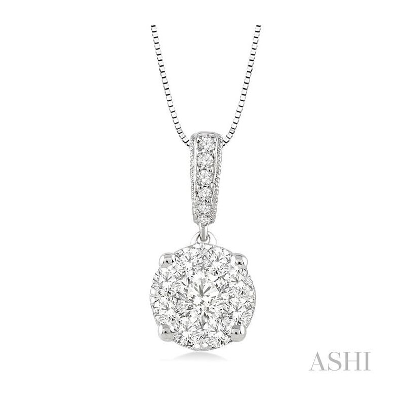 Barclay's Signature Collection lovebright diamond pendant