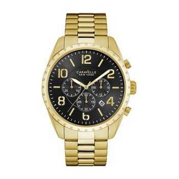 Gold-Tone Men's Chronograph Watch