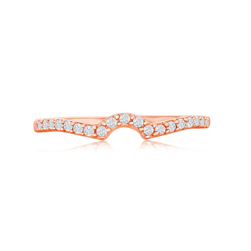 Veer Diamonds PETITE CROWN MATCHING BAND