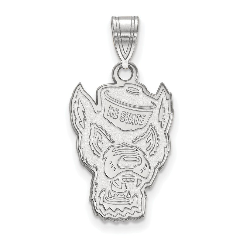 NCAA Sterling Silver North Carolina State University NCAA Pendant