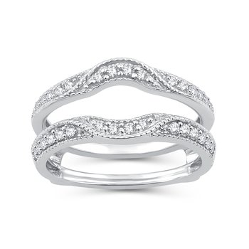 14K 0.33Ct Ring Guard