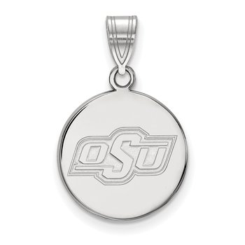 Gold Oklahoma State University NCAA Pendant