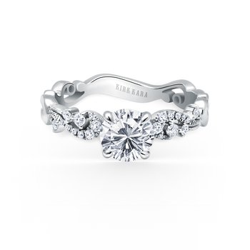 Poetic Solitare Diamond Engagement Ring