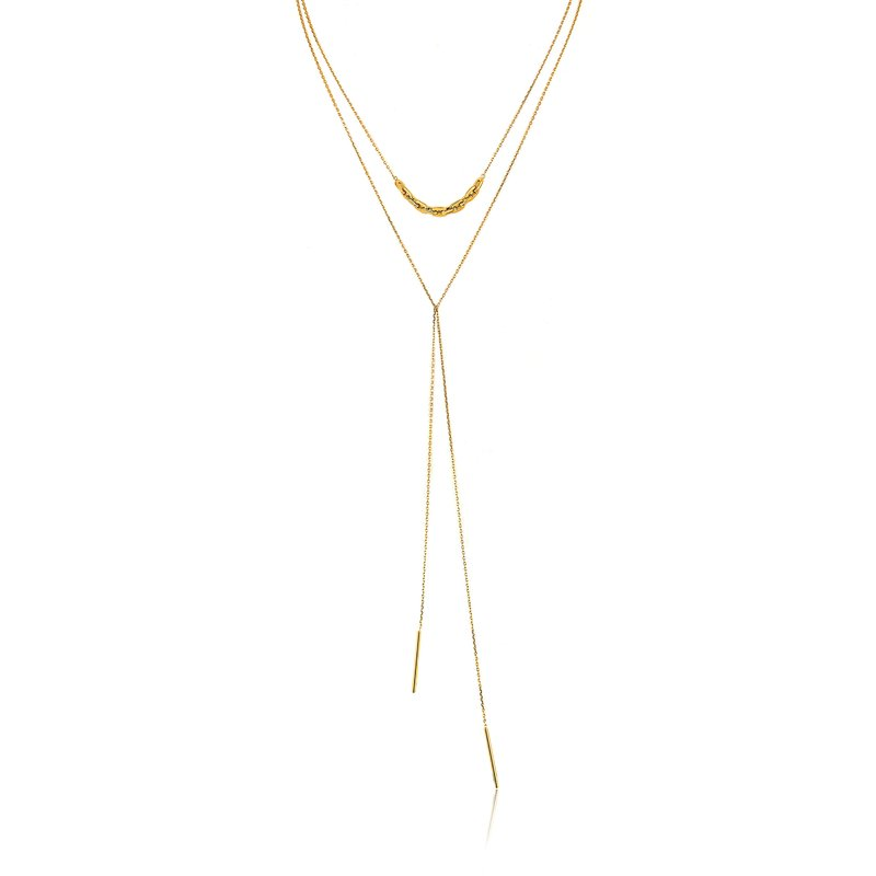 Ania Haie Links Lariat Necklace