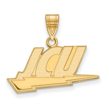 Gold John Carroll University NCAA Pendant