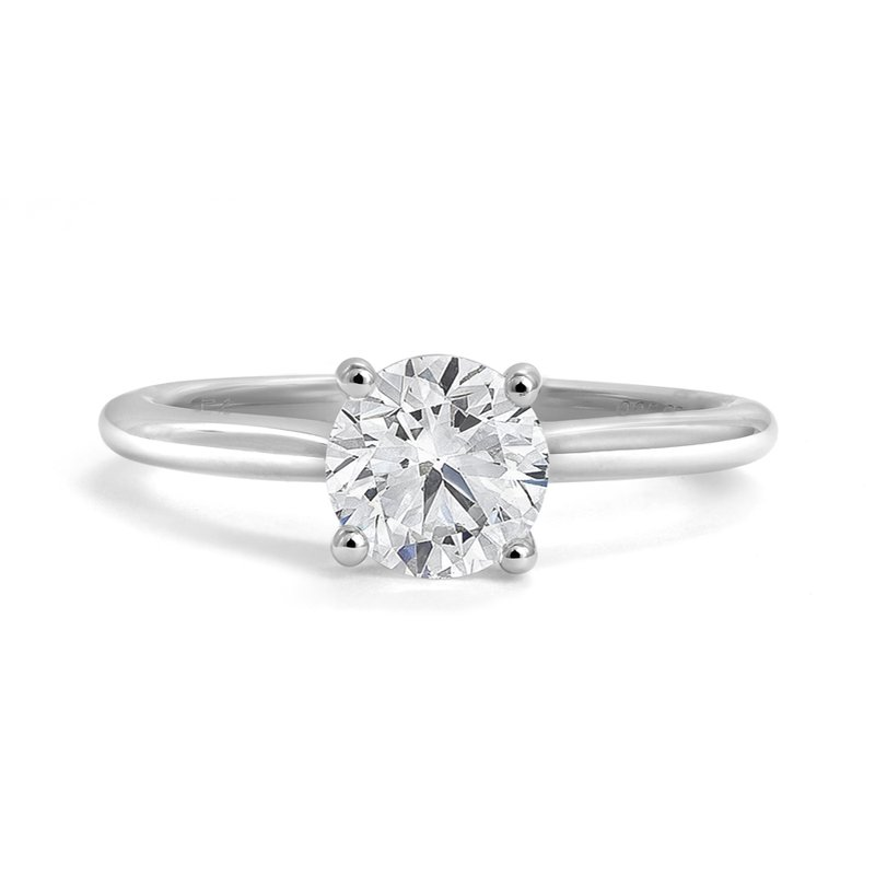 Canadian Rocks Classic Diamond Solitaire Engagement Ring
