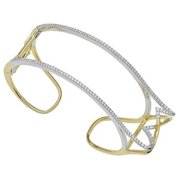 Diamond Fashion Cuff - FDC1217YW