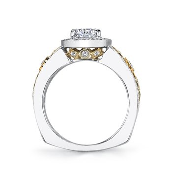 MARS 26047TT Diamond Engagement Ring 0.60 Ctw.