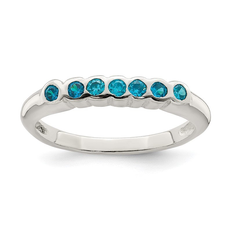 Lester Martin Online Collection Sterling Silver Blue Topaz Ring