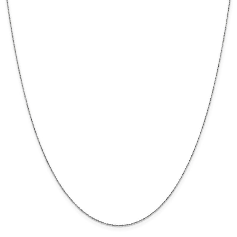 Leslie's Leslie's 14K White Gold .8mm Loose Rope Chain