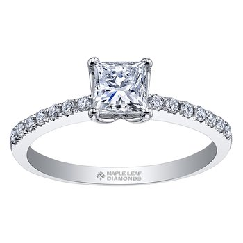 Maple Leaf Diamonds™ Eternal Flames™ Ladies Engagement Ring