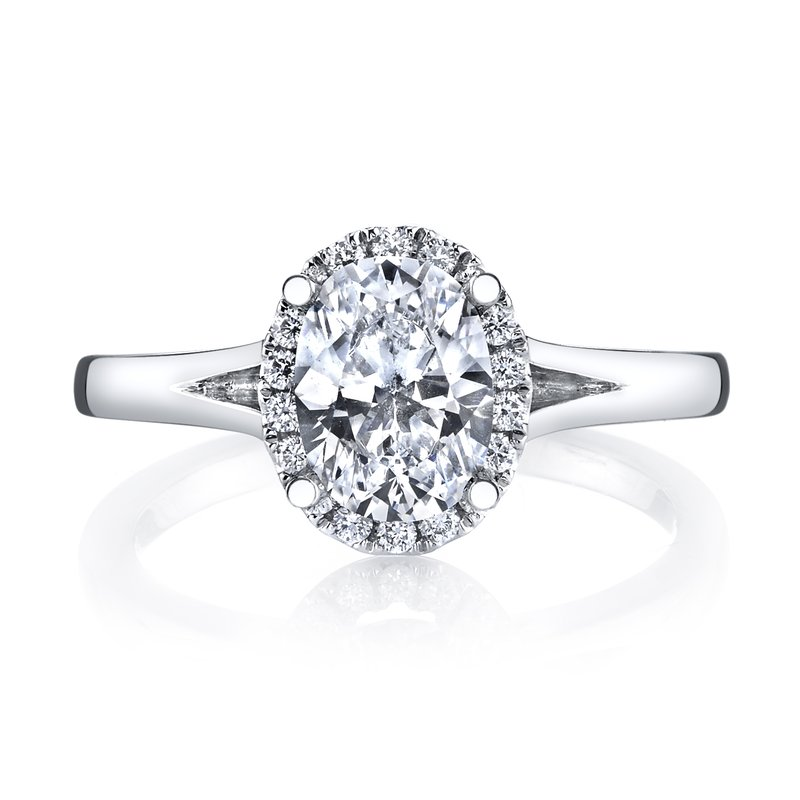 MARS Jewelry MARS 26513 Diamond Engagement Ring 0.13 Ctw.