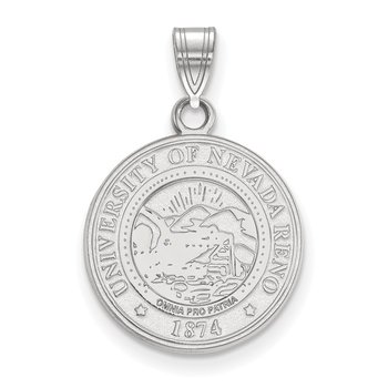 Sterling Silver University of Nevada NCAA Pendant