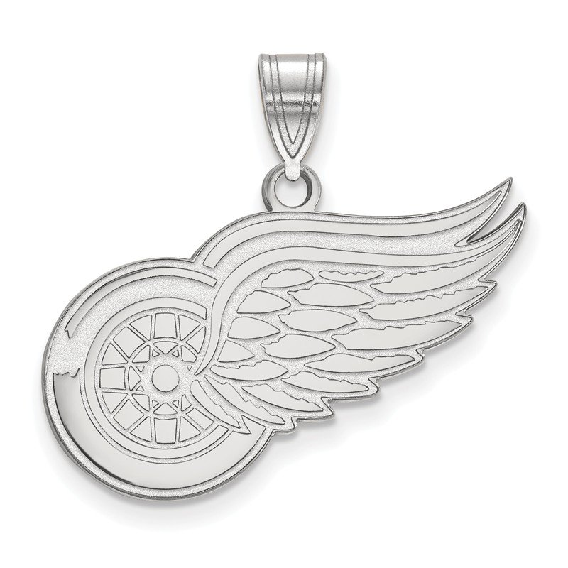 NHL Sterling Silver Detroit Red Wings NHL Pendant
