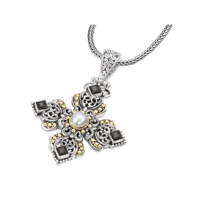 Eleganza Ladies Fashion Cross Pendant