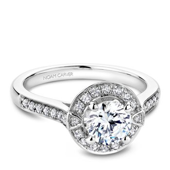 Noam Carver Vintage Engagement Ring B066-01A
