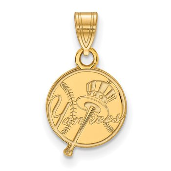 Gold New York Yankees MLB Pendant