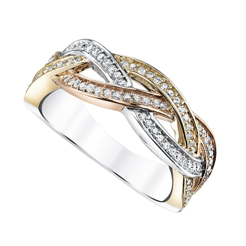 Simmons & Clark Two Hearts Collection Wedding Band