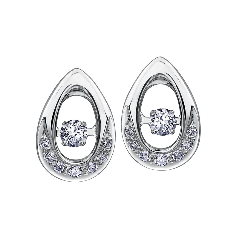 I Am Canadian Northern DancerDiamond Earrings