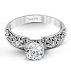 Simon G LP1582-D ENGAGEMENT RING