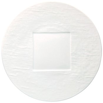 White Round Buffet Plate